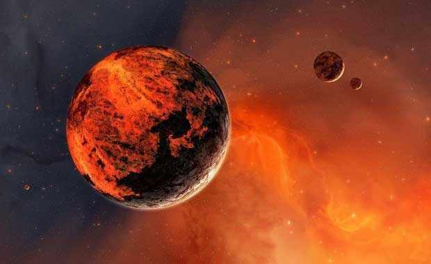 15,5 billion  KM from the Sun