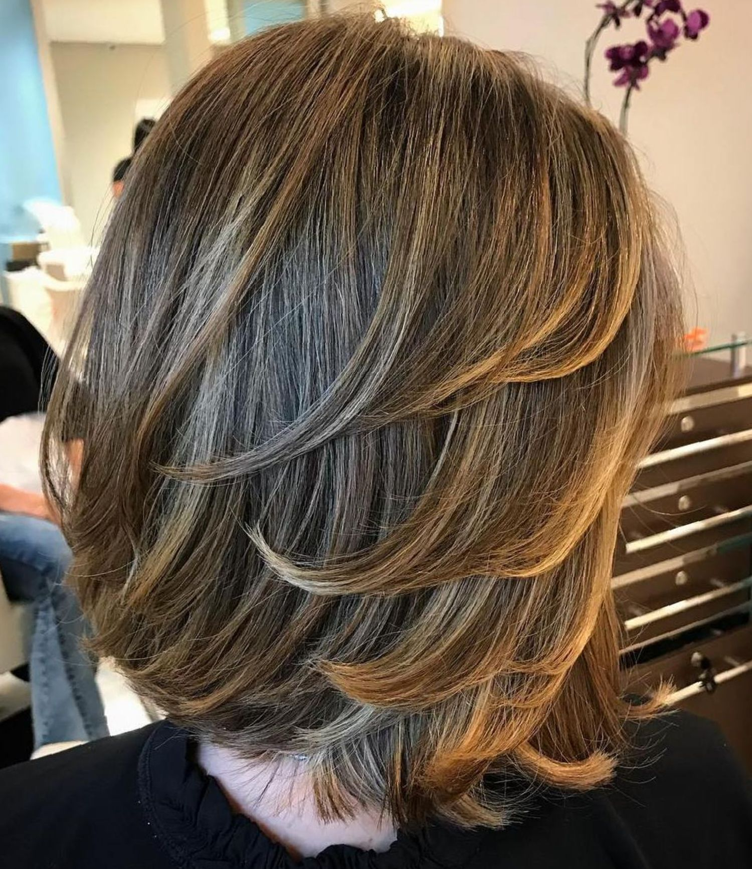 Medium Length Hairstyles for Thick Hair (3) - Nature of Nature