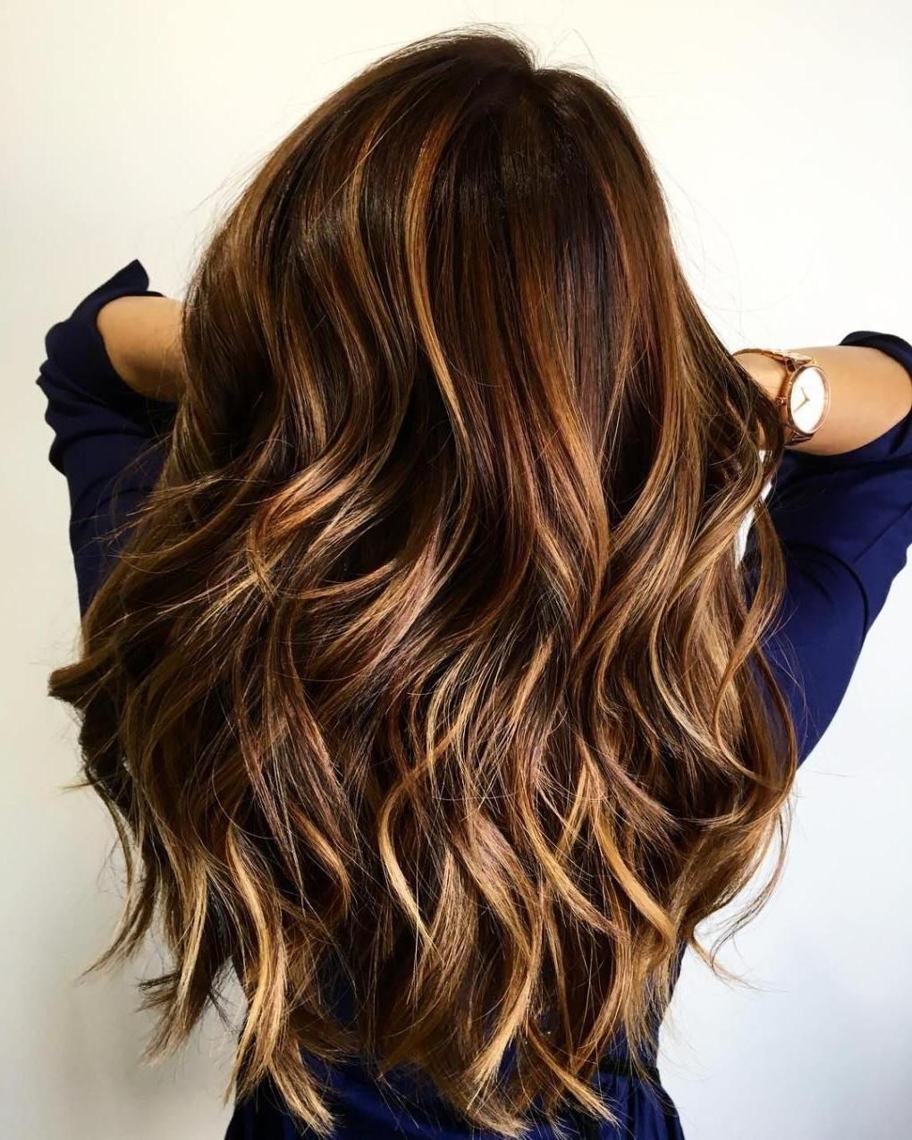 15 Yummiest Caramel Brown Hair Color Ideas