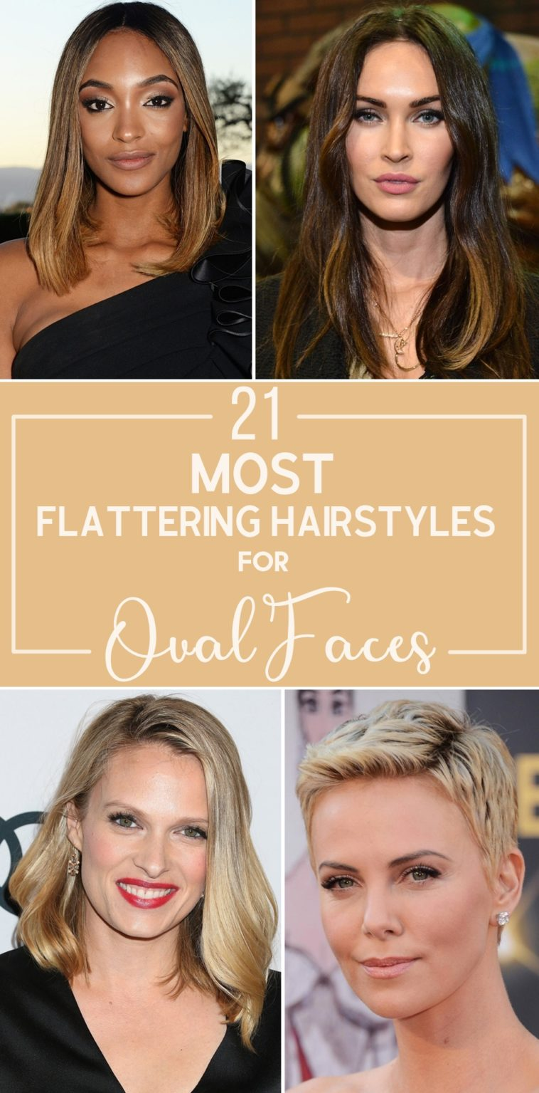 Tremendous 21 Most Flattering Hairstyles For Oval Faces Natural Hairstyles Runnerswayorg