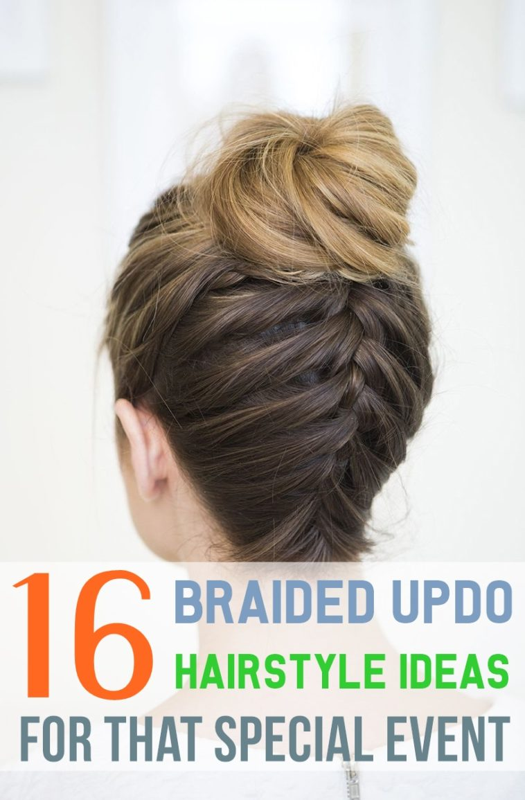 Peachy 16 Braided Updo Hairstyle Ideas For That Special Event Schematic Wiring Diagrams Phreekkolirunnerswayorg