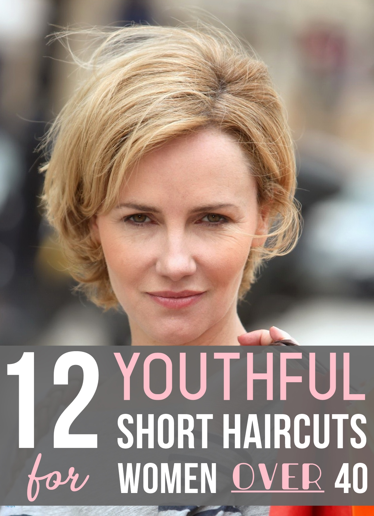 12 Youthful Short Haircuts For Women Over 40