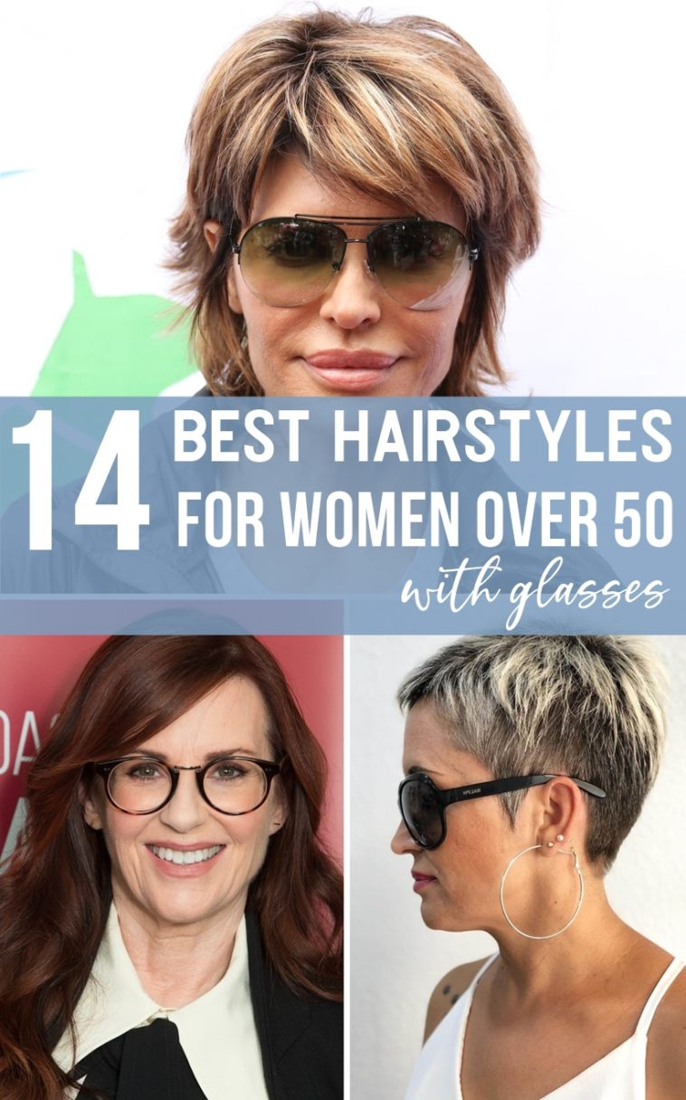 Layered Bob Medium Length Hairstyles For Over 50 With Glasses 105