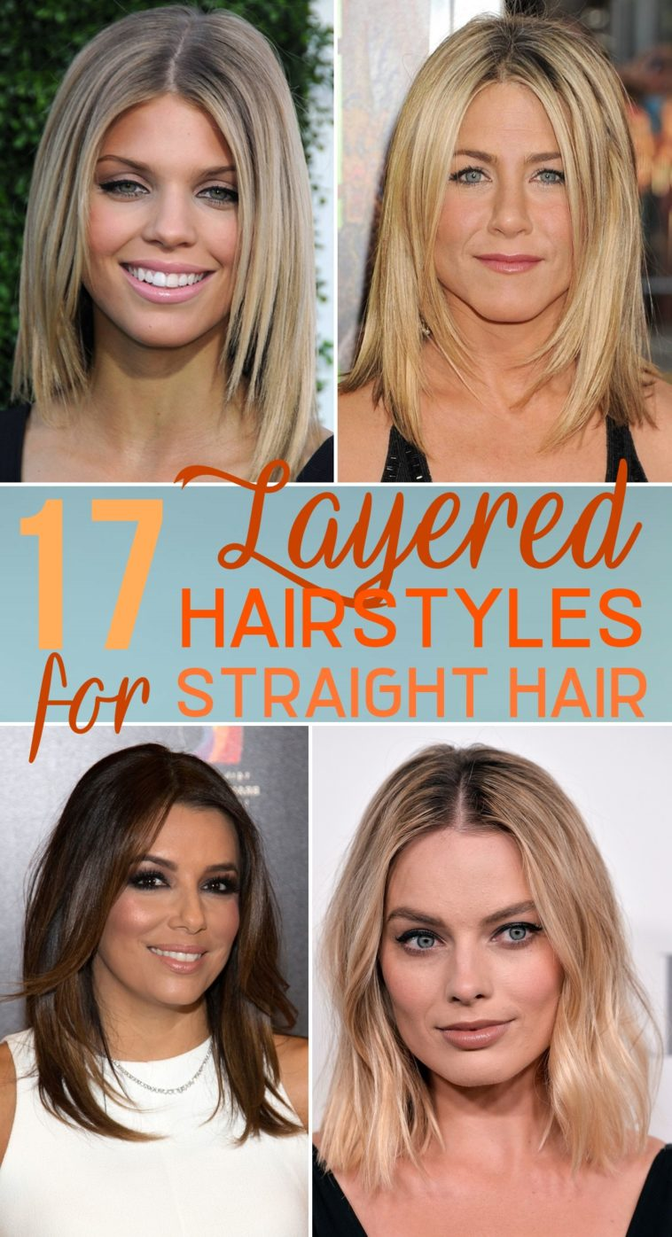 17 Layered Hairstyles for Straight Hair