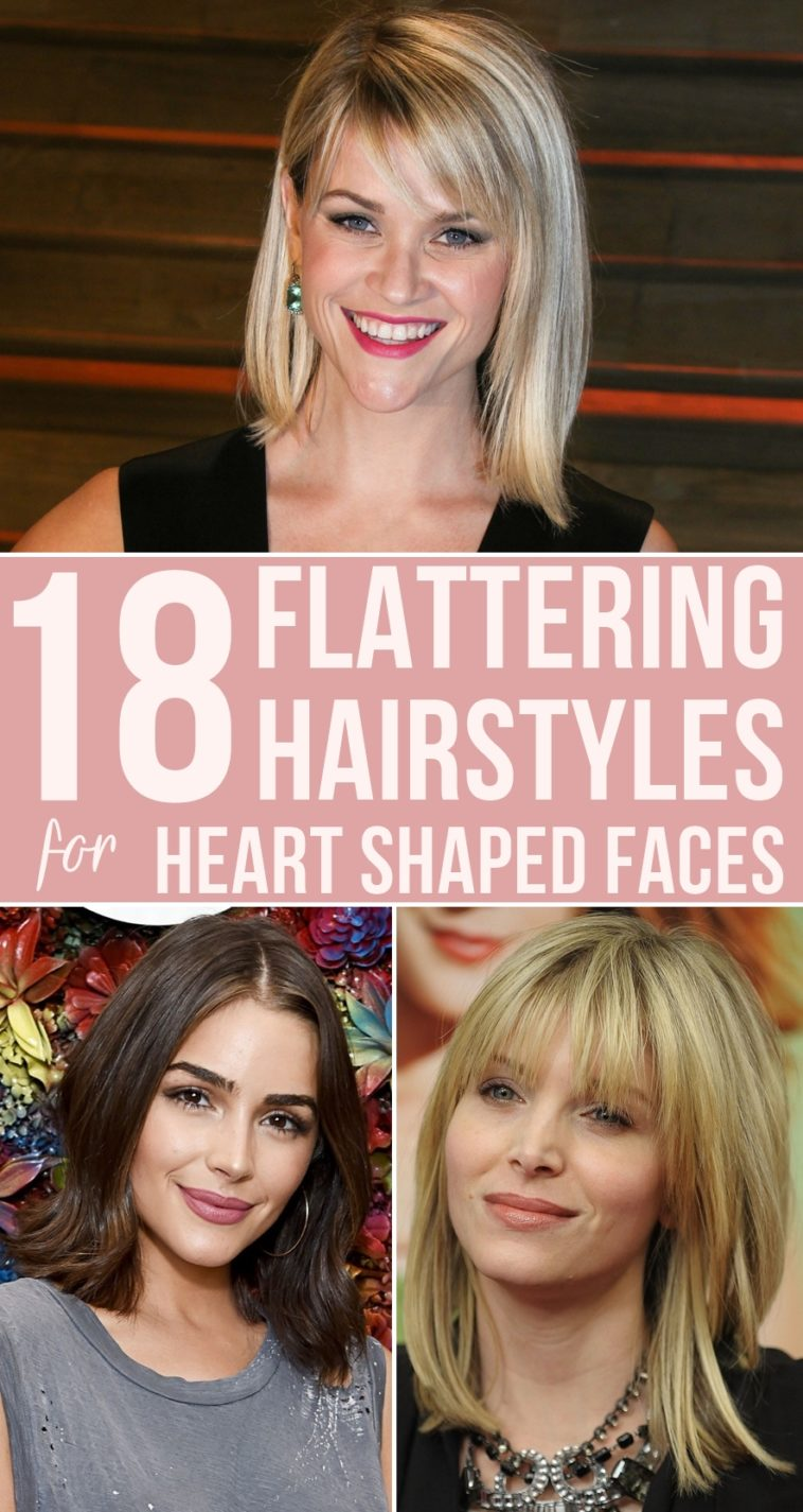 11 Flattering Hairstyles for Heart Shaped Faces